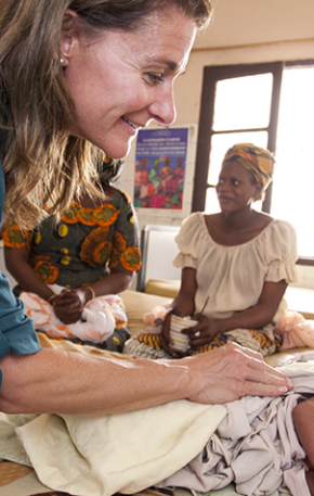 Melinda Gates, uma das mulheres mais poderosas do mundo, relata como o empoderamento a transformou