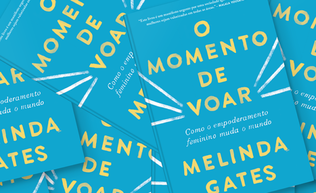 "Concorra ao livro ""O momento de voar"" de Melinda Gates (encerrado)"