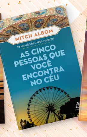 Concorra aos livros do Mitch Albom