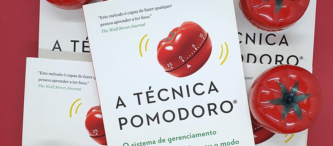 """Concorra ao livro """"A técnica pomodoro"""" de Francesco Cirillo"""