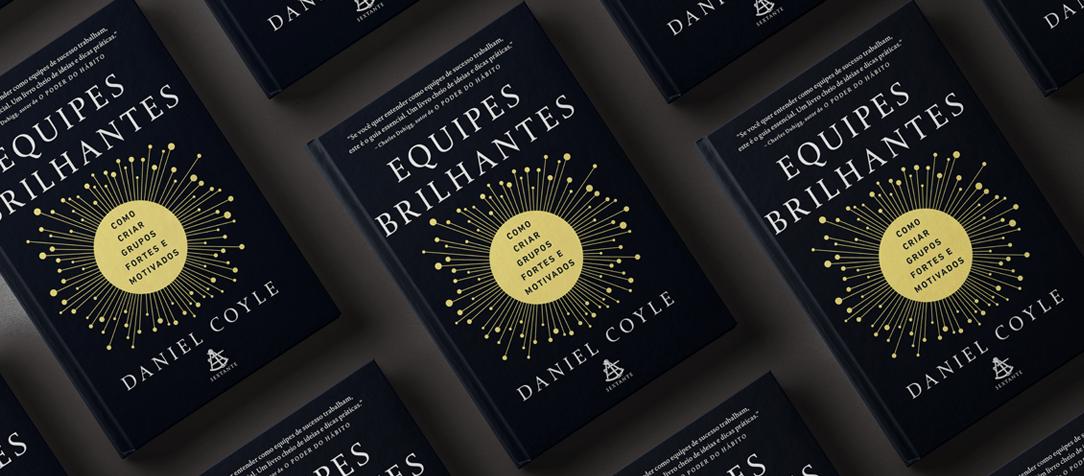 """Concorra ao livro """"Equipes brilhantes"""" de Daniel Coyle (encerrado)"""