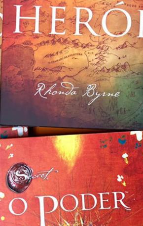 """Concorra aos livros """"O poder"""" e """"Herói"""" de Rhonda Byrne"""